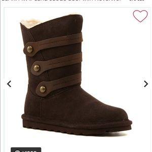 BearPaw Ladies Boot. NEW! 2 colors. Black & Brown